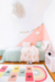 La meilleure chambre d'enfant meublée avec des meubles en carton cubiqz