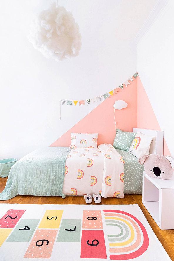La millor habitació infantil moblada amb mobles de cartró cubiqz