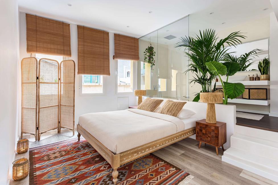 Impresionante suite decorada por Sébatien Robert