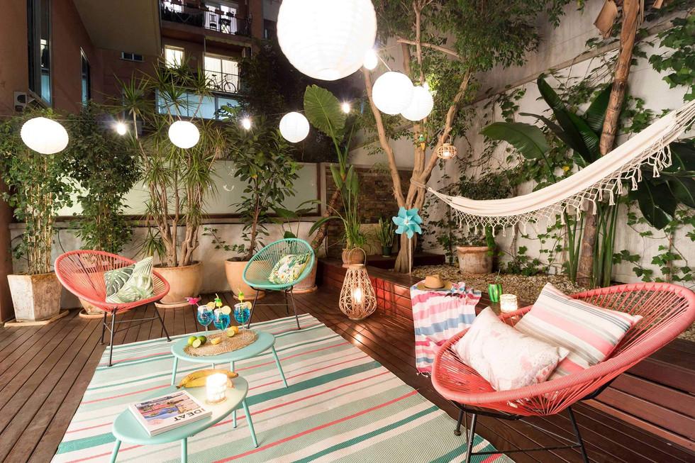 Exclusiva y original iluminacion para piso en venta en Eixample