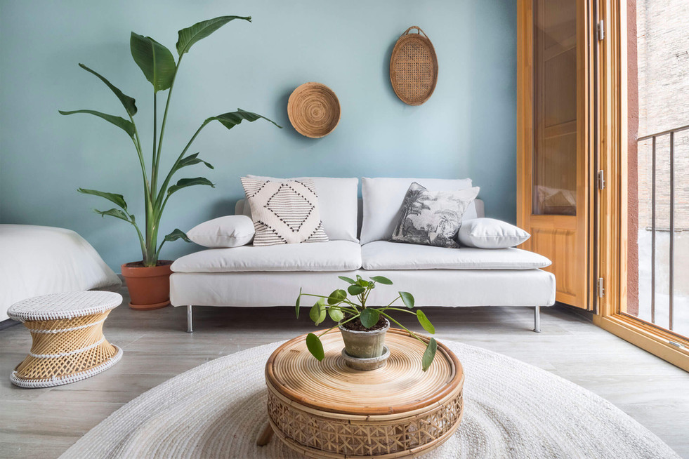 Decora tu sala de estar para vender más rápido en Barcelona