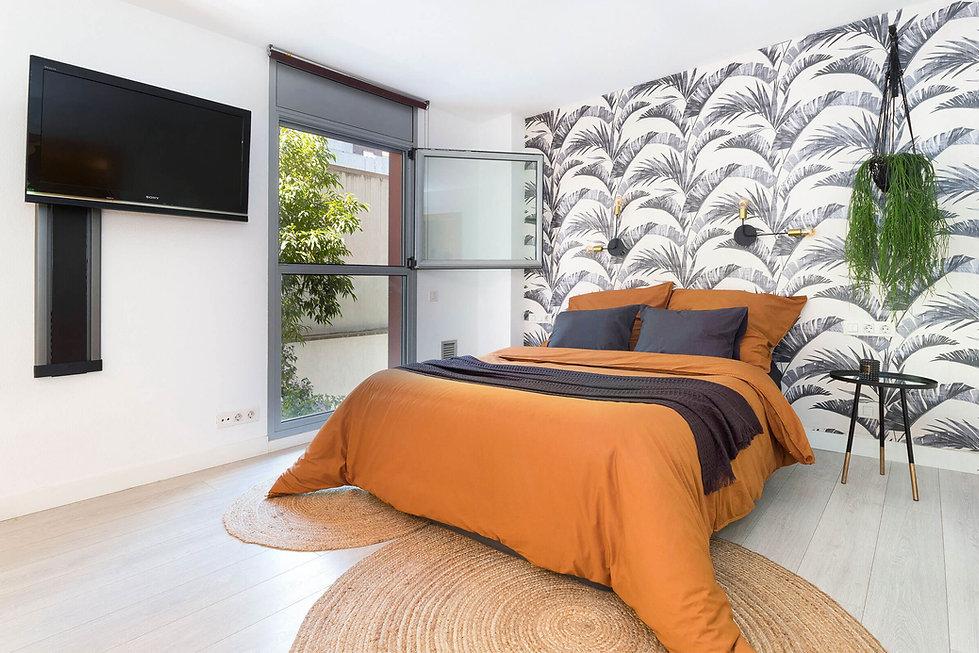 El dormitori principal somiat en venda a l'Eixample