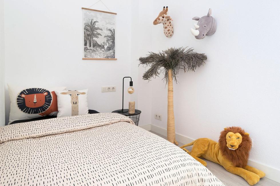 Chambre d'enfant décorée par Sébastien Robert
