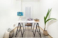 Estudio despues de home staging de la agencia inmobiliaria