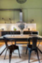 Photographies professionnelles de la salle à manger pour attirer plus de visites