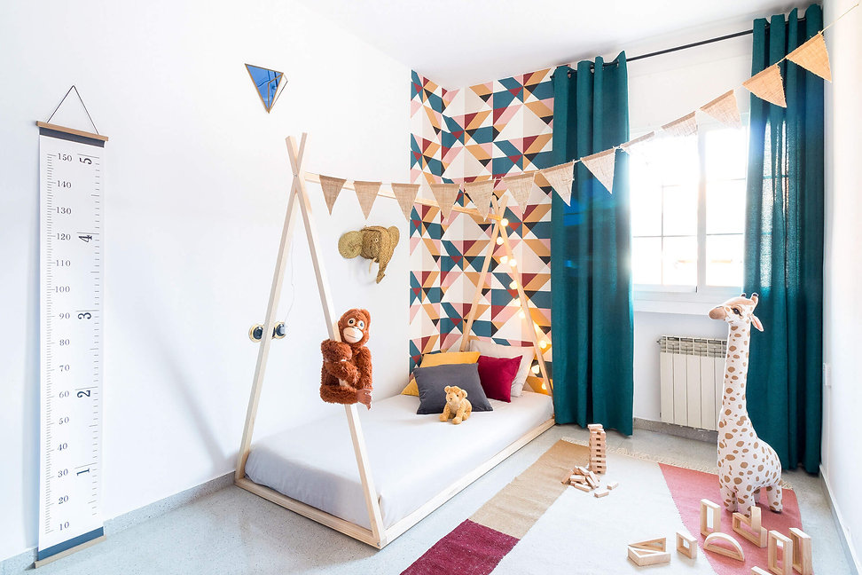 Montessori children's room after home staging