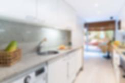 Cocina office despues de home staging realizado por sebastien robert