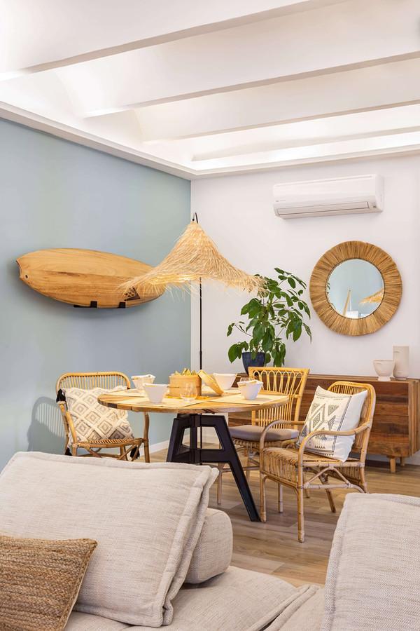 Precioso comedor balinés diseñado por Sébastien Robert
