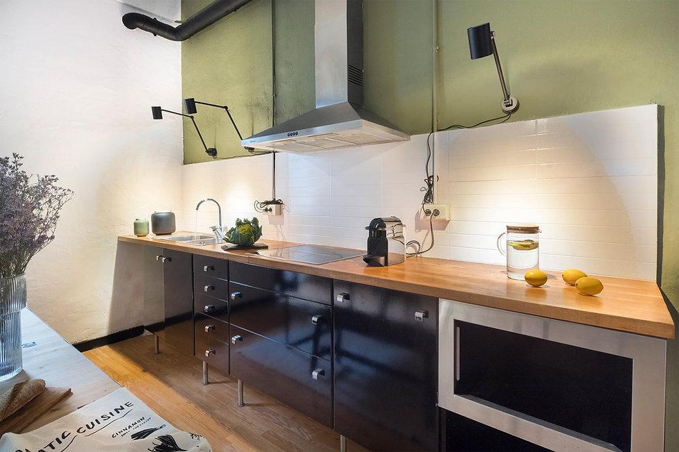 Obtient une cuisine digne d'une revue de magazine avec l'agence immobilière Sébastien Robert