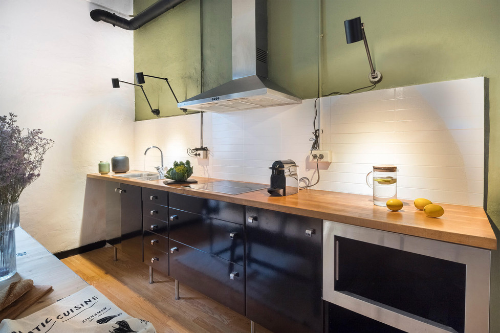 Get a magazine kitchen with the real estate agency Sebastien Robert