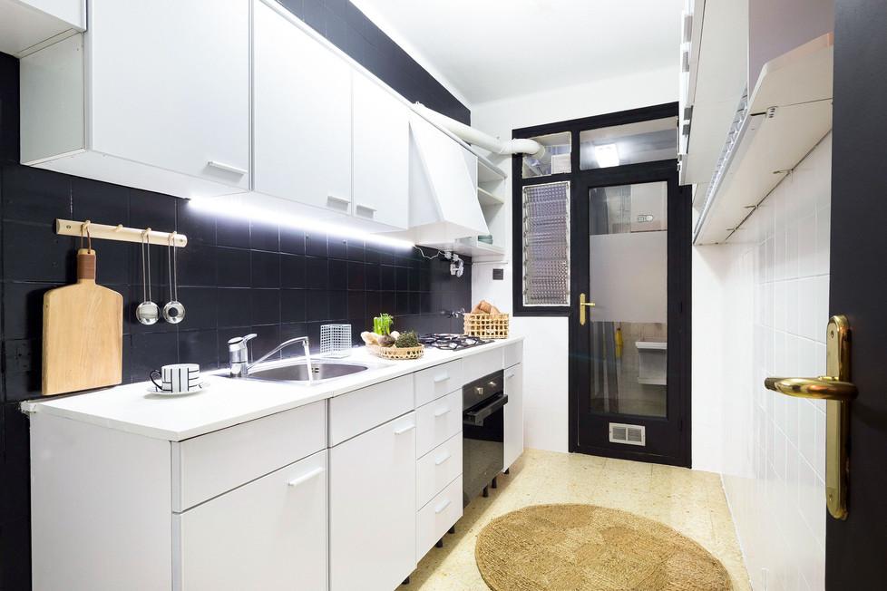 Investis un peu d'argent dans une cuisine pour vendre plus cher