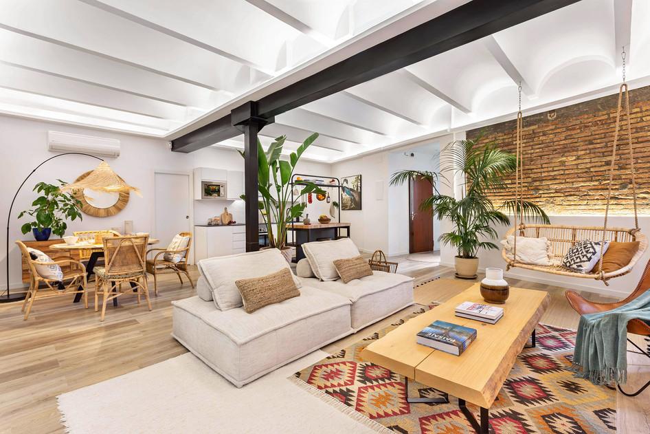 Home Staging en plein centre de Barcelone