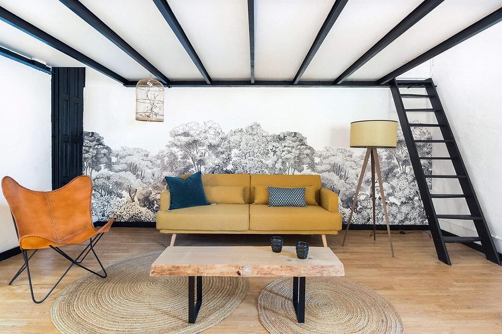 Sébastien Robert décore ton salon avec des détails de luxe