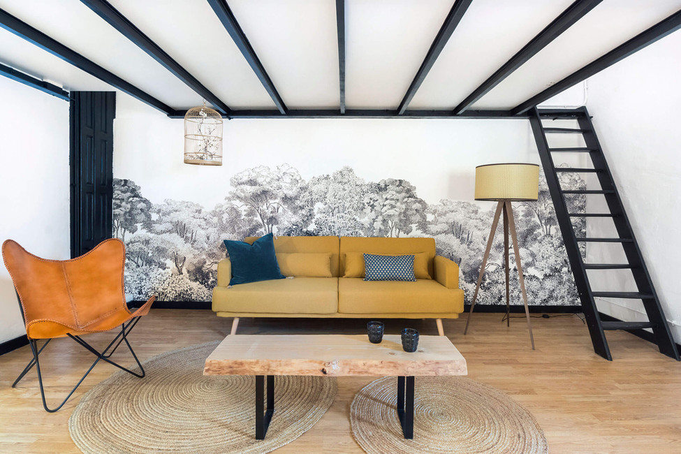 Sebastien Robert decorates your living room with great detail