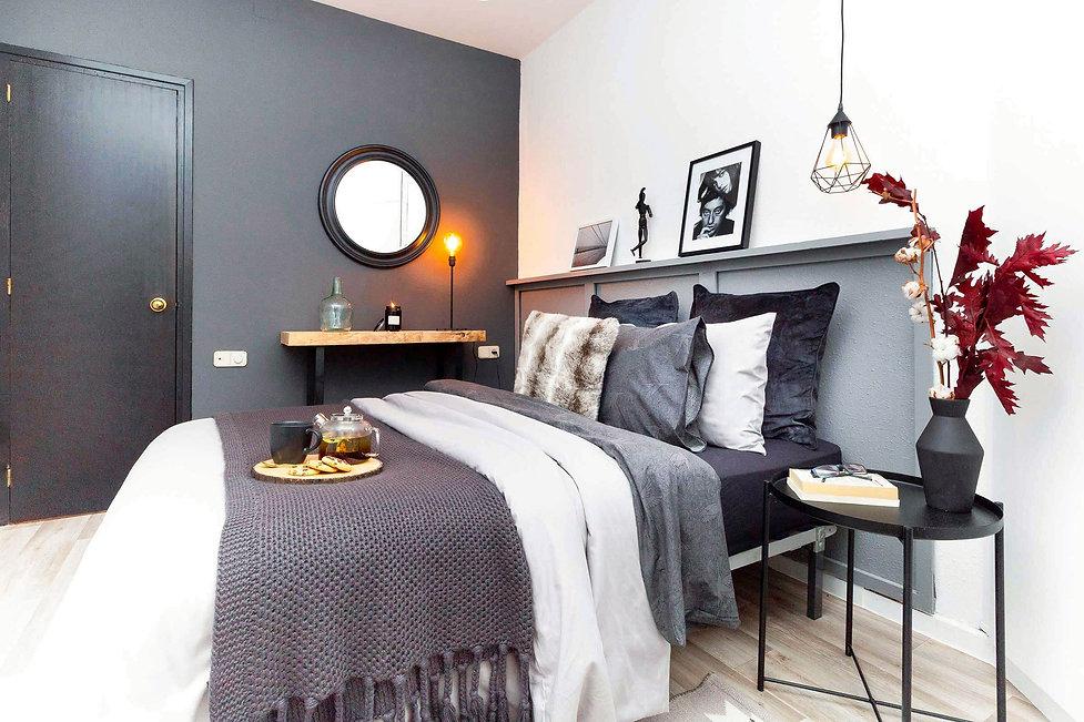 Chambre décorée par Sébastien Robert