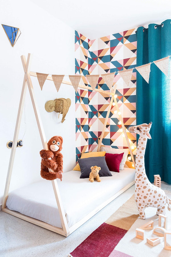Exclusiva decoracion infantil con jirafa de H&M Home