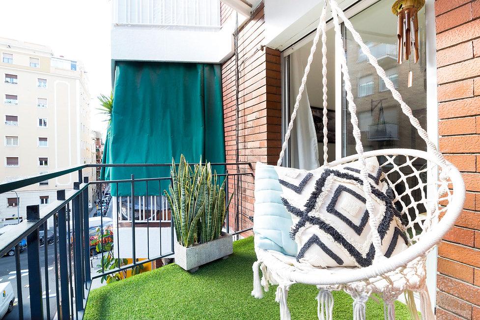 Acheter un appartement avec balcon dans le quartier de Gracia