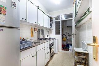 Proyecto de renovación de cocina antes de pintar