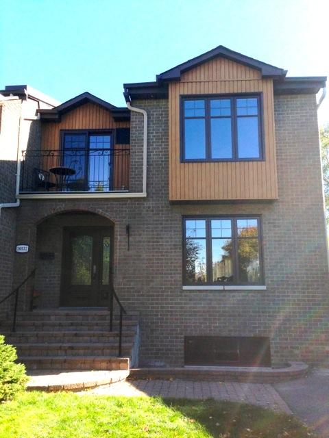 Porte, fenêtres et porte patio