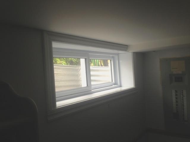 Fenêtre coulissantes