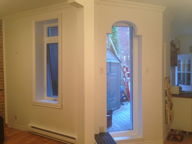 Fenêtres à auvent et fixe Fenplast