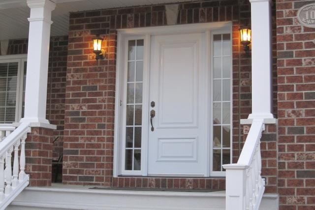 Porte Fenplast avec deux latéraux