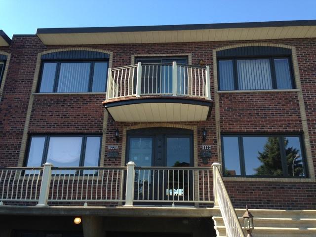 Quatres fenêtres à battants Fenplast