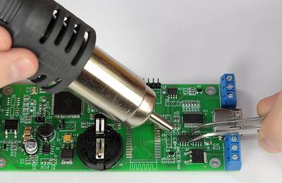 Sensor pojemnościowy dotykowy odporny na wode