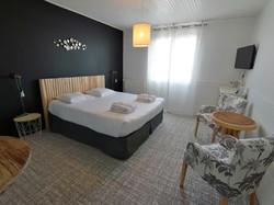 Chambre confort à l'étage