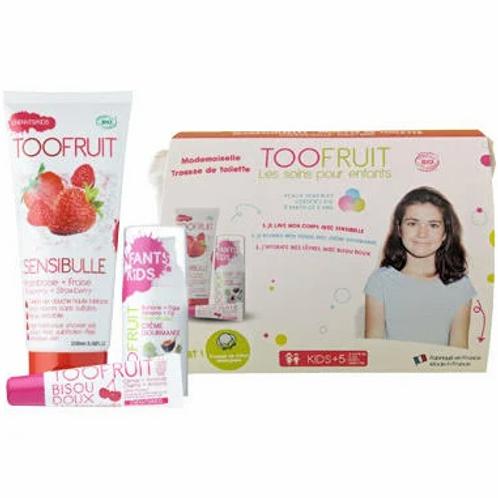 Toofruit Mademoiselle Ma Première Trousse de Toilette