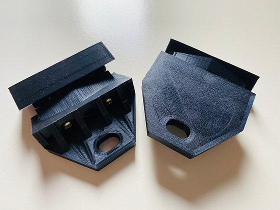 Spotlight/lightbar brackets (Front pair)