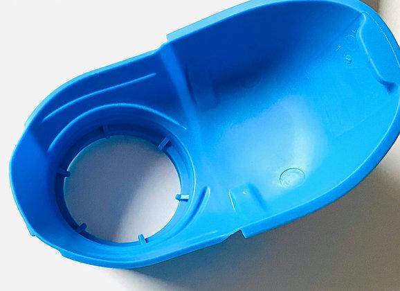 Washer fluid funnel filler cap