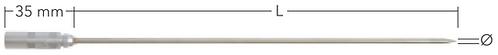 EX termoføler TPN 140-xxx-EX, Ø 3.0 mm