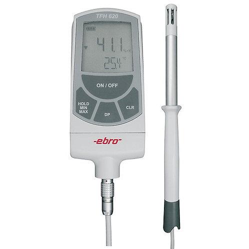TFH 620 + TPH 100 hygrometer med luftføler