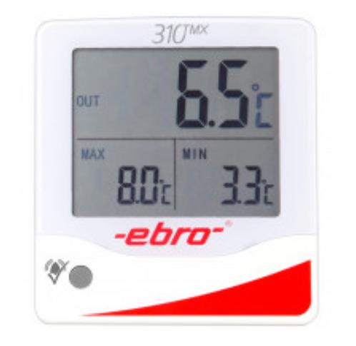 TMX 320 Max-min termometer (1 intern føler / 1 ekstern kapselføler)