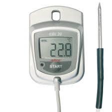 Sæt EBI 20-TF Standard temperaturlogger med ekstern føler