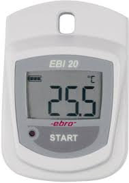 Sæt - EBI 20-T1 Standard temperaturlogger med intern føler
