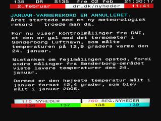 Ny varmerekord eller kulderekord i Danmark