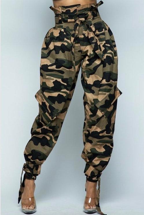 Camo Cadet Pants
