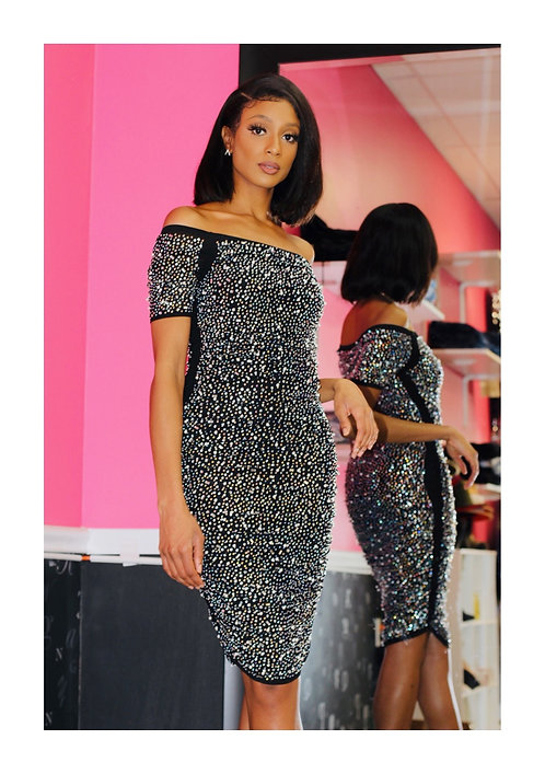 True Spark Sequin Dress