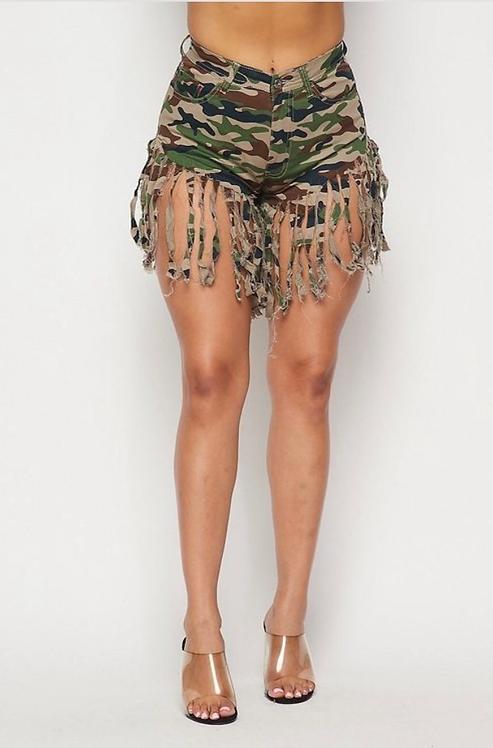 Cadet Fringe Shorts