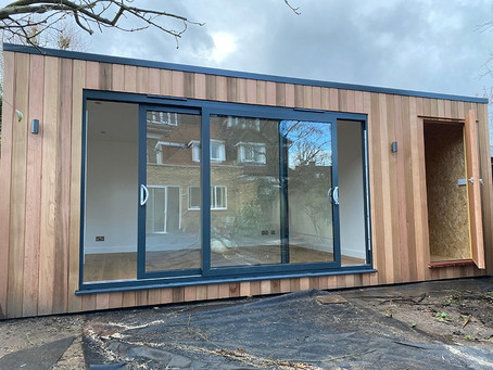 Garden office with store - Hounslow