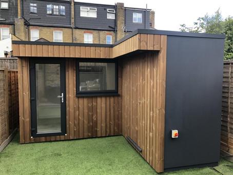Garden Office with Storage - Southfields