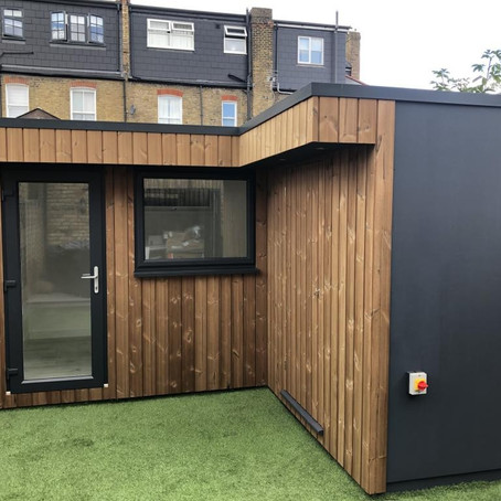 Garden Office with Storage - Southfields