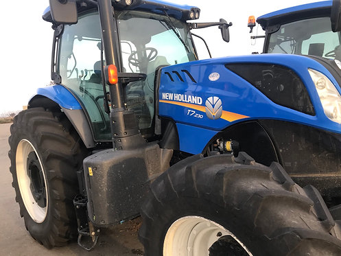 2018 New Holland T7.230CLA Power Command - 570 Hours