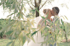 Couples Image surrounding by Branches