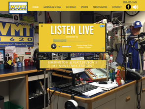 LONDONmiddlebury Launches Newstalk 620 WVMT's New Website