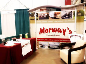 Morway's Trade Show Display- check!