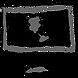 Globe on a computer monitor