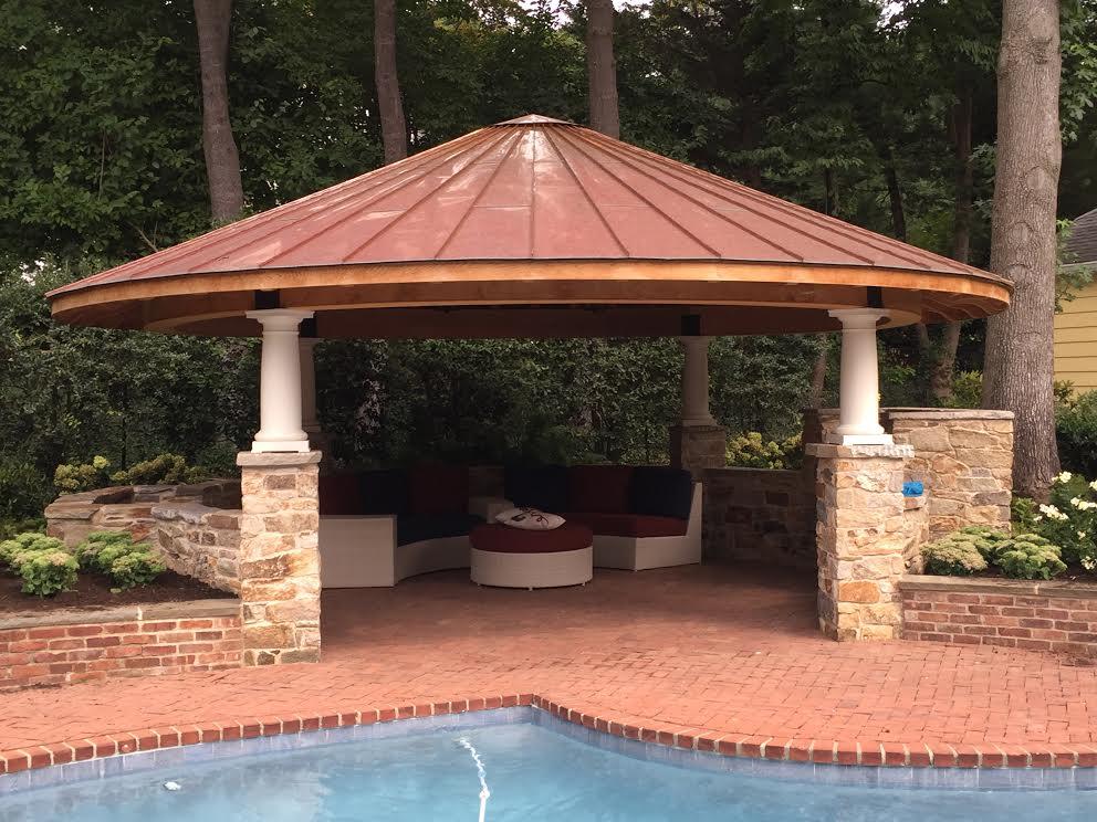 Copper Roof Pool